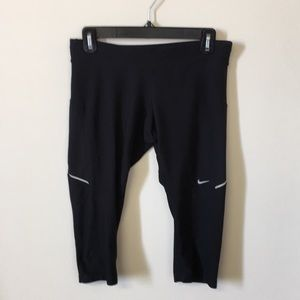 Nike running dri-fit capris